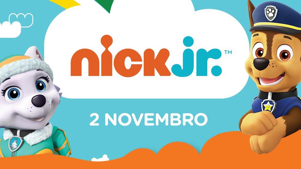 Novo canal Nick Jr. chega a 2 de novembro