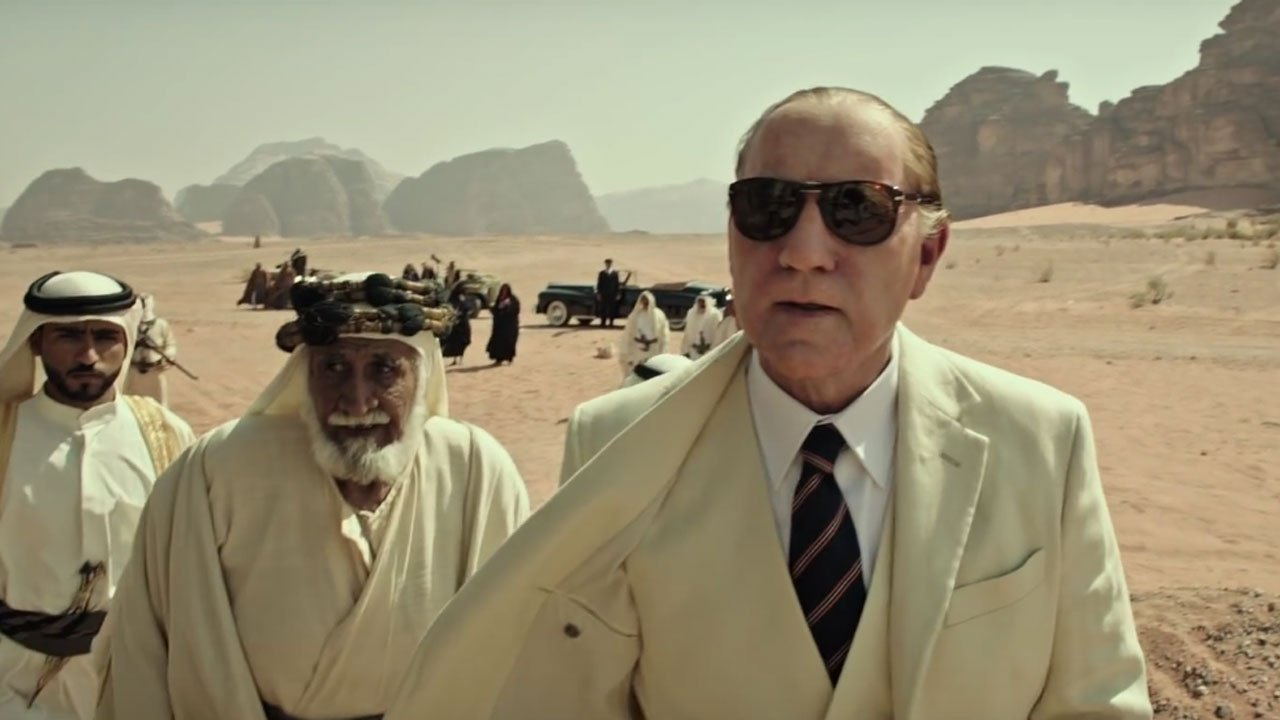 Kevin Spacey apagado do próximo filme de Ridley Scott