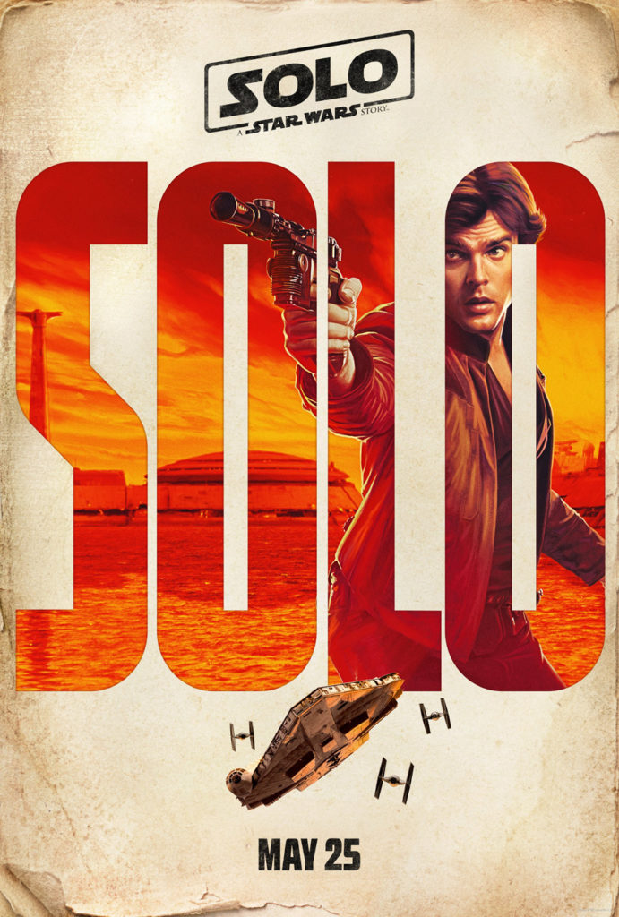 Posters: Solo: Uma História de Star Wars 1/4: Han Solo