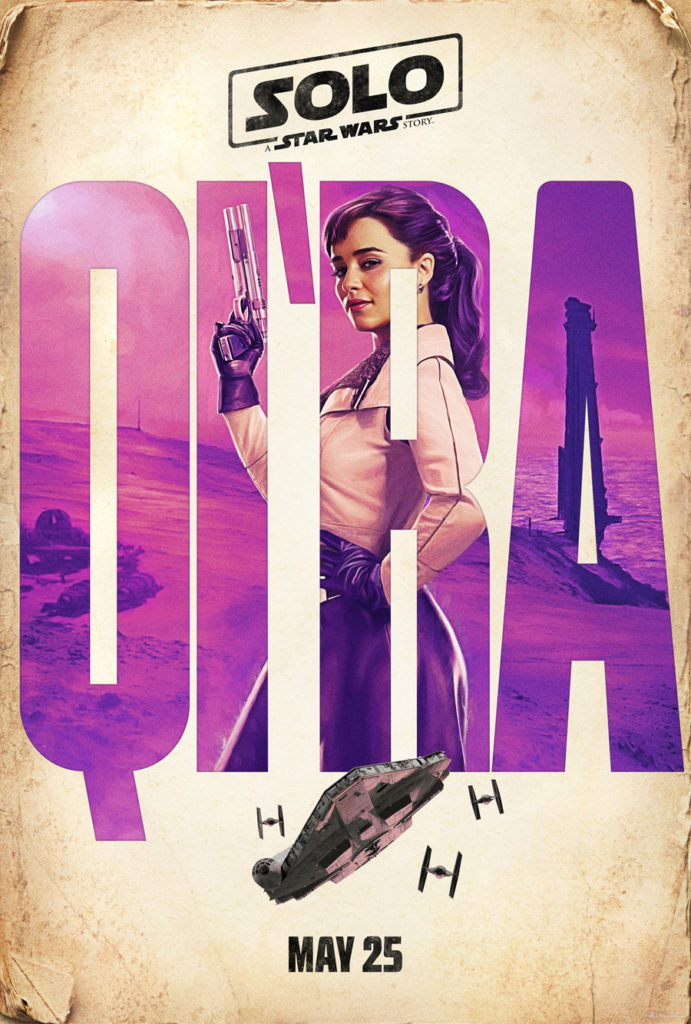 Posters: Solo: Uma História de Star Wars 2/4: Qi'Ra