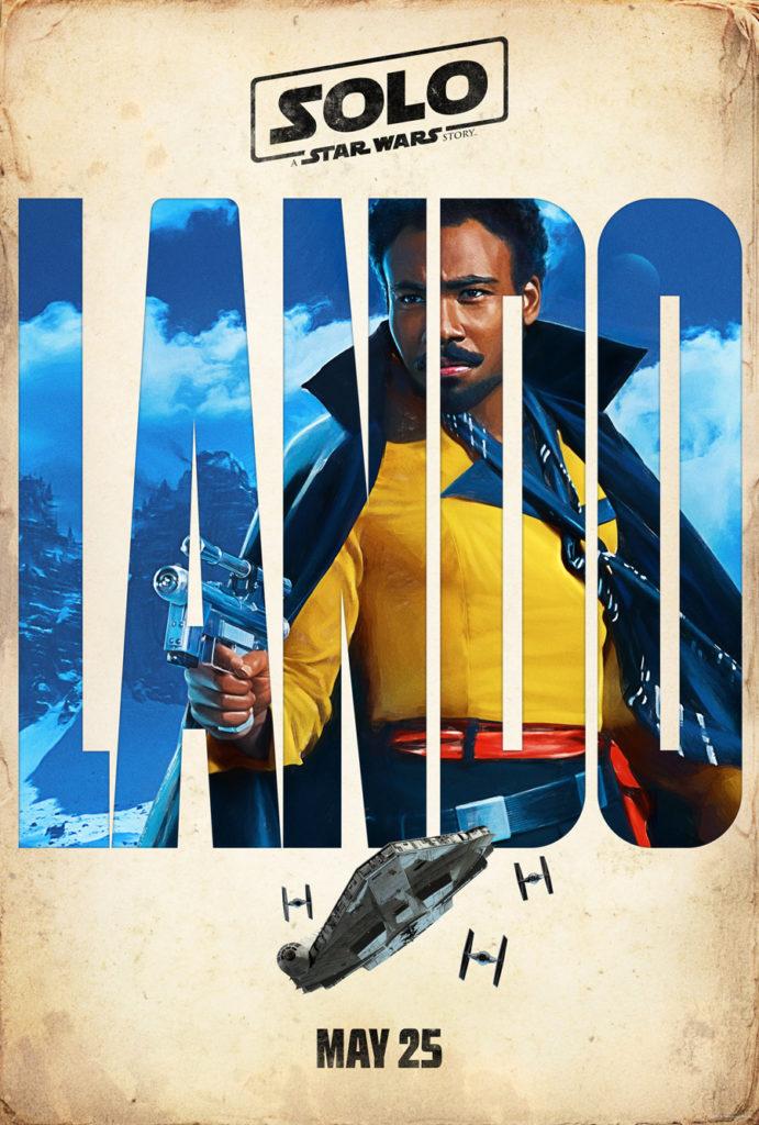 Posters: Solo: Uma História de Star Wars 3/4: Lando Calrissian