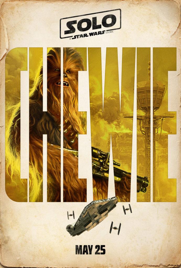 Posters: Solo: Uma História de Star Wars 4/4: Chewbacca