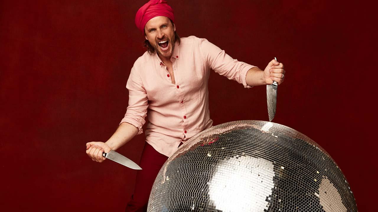 Chef Chakall participa em concurso de dança na televisão alemã