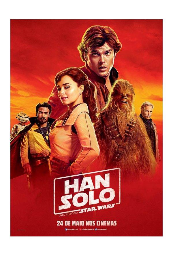 Posters brasileiros: Solo: Uma História de Star Wars 1/5: Solo: A Star Wars Story