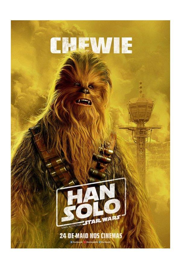 Posters brasileiros: Solo: Uma História de Star Wars 5/5: Chewie