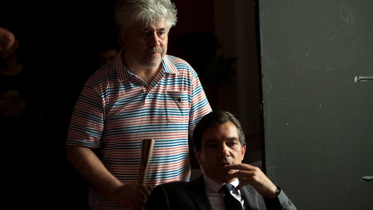 Antonio Banderas e Penélope Cruz no próximo filme de Almodóvar