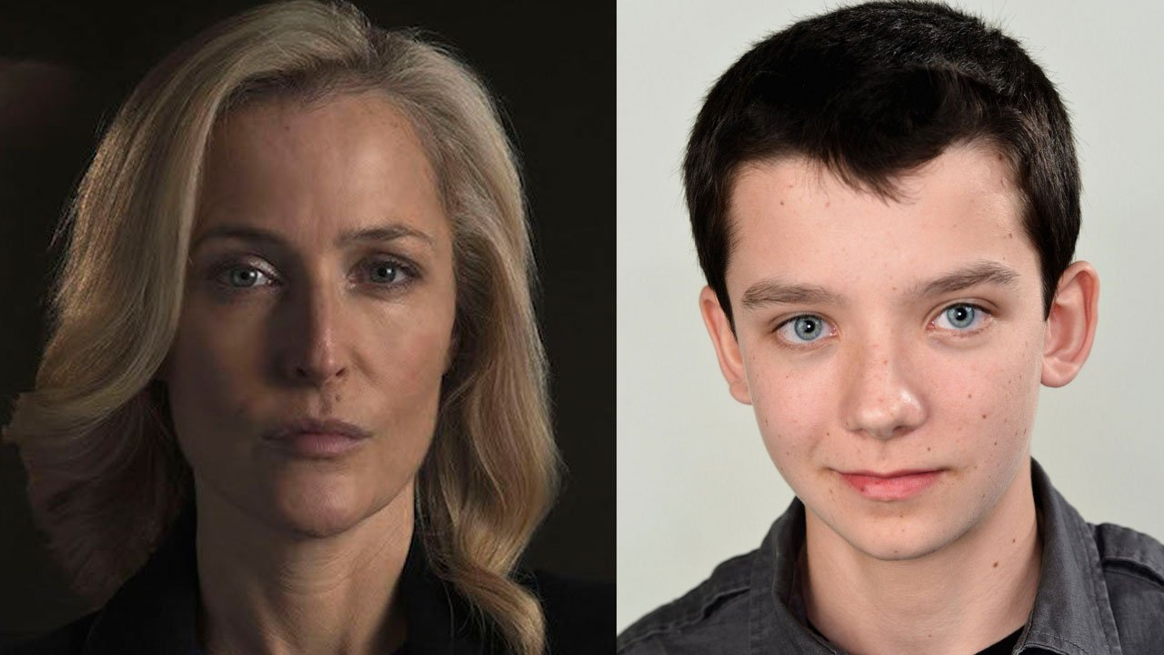 """Sex Education"": Asa Butterfield e Gillian Anderson protagonistas da nova série Netflix"