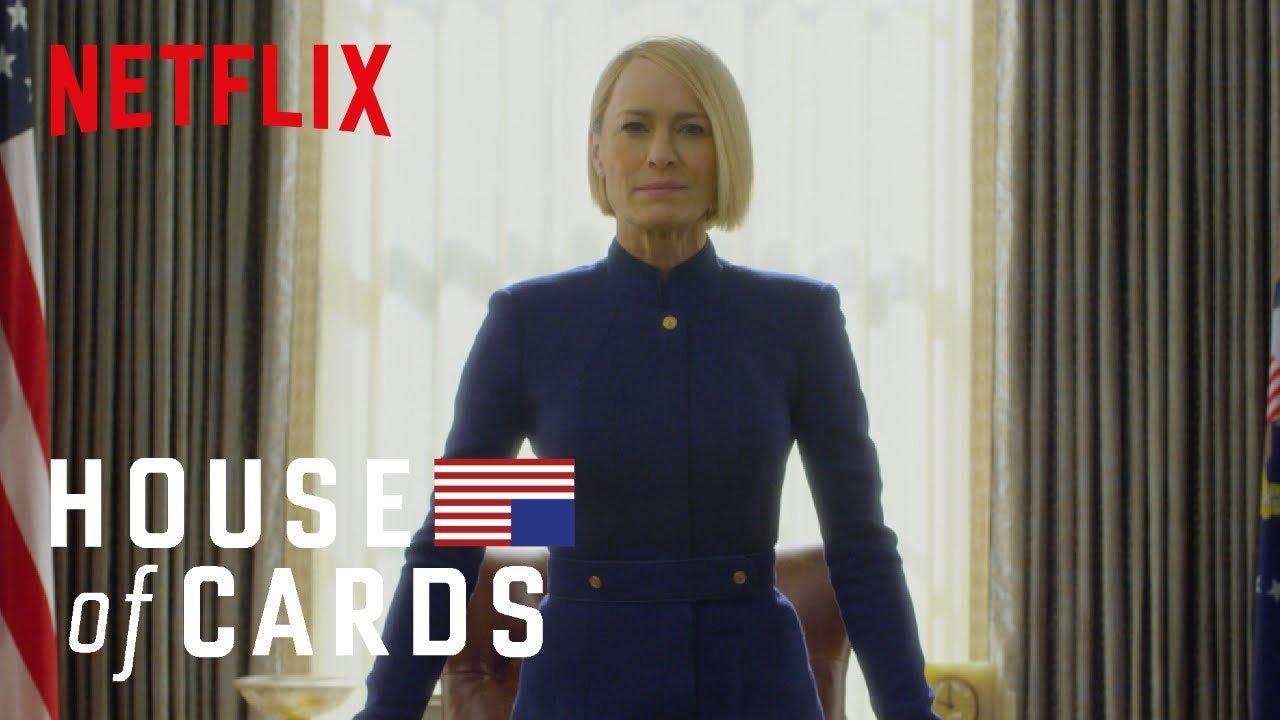 """Primeiras imagens de """"House of Cards"""" sem Kevin Spacey"""