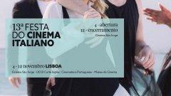 Programação da 13.ª Festa do Cinema Italiano