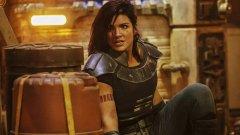 "Gina Carano despedida de ""The Mandalorian"" por comentários nas redes sociais"