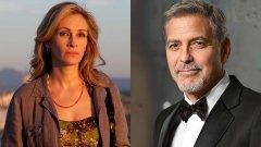 George Clooney e Julia Roberts juntos em comédia romântica