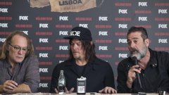 "Elenco de ""The Walking Dead"" em Lisboa: entrevistas com Jeffrey Dean Morgan, Norman Reedus e Greg Nicotero"
