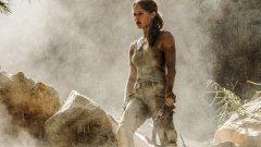 Primeiras fotos de Alicia Vikander como Lara Croft