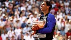 Eurosport transmite documentário sobre os bastidores da décima vitória de Rafael Nadal em Roland Garros