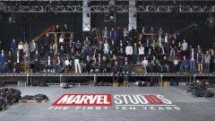 Marvel assinala décimo aniversário do universo cinematográfico com foto de grupo