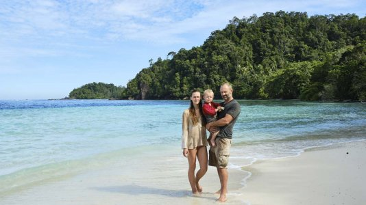 Ed Stafford traz a família para o novo programa de sobrevivência do Discovery Channel