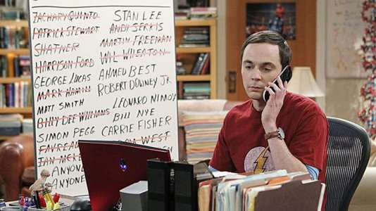 """The Big Bang Theory"": Sheldon persegue atores de ""Star Wars"""