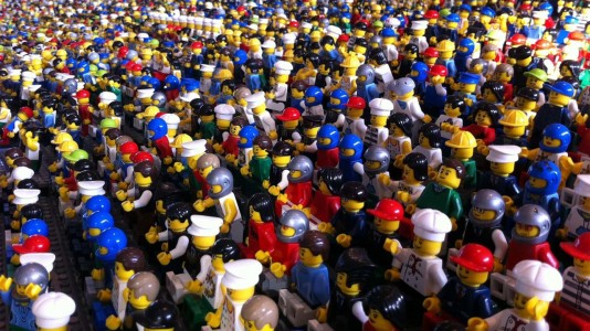 Maior Lego Fan Event do mundo no Campo Pequeno