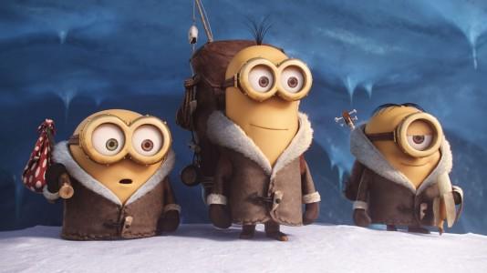 Chegou  o primeiro trailer do filme dos Minions (versão original)