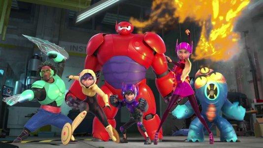 """""""Big Hero 6 - Os Novos Heróis"""" regressa em 2017 no formato série"""