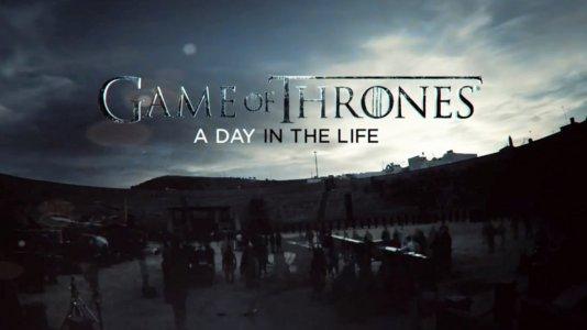"""Especial """"Game of Thrones: A Day in the Life"""" acompanha um dia na produção da quinta temporada"""