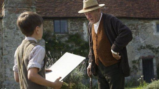 """Ian McKellen revela a primeira imagem do seu próximo filme """"Mr. Holmes"""""""