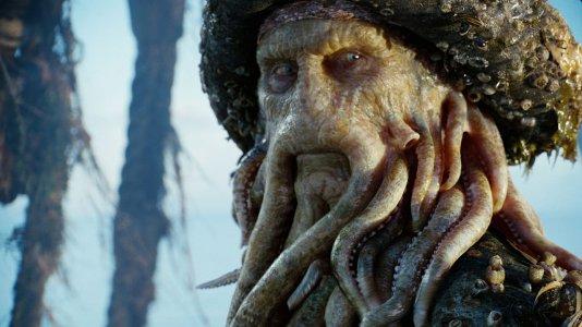 """Próximo """"Piratas das Caraíbas"""" será sobre o filho de Davy Jones"""