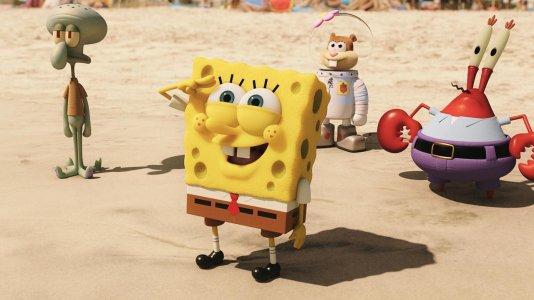 """""""SpongeBob: Esponja Fora de Água"""" - sessões especiais de pré-estreia"""