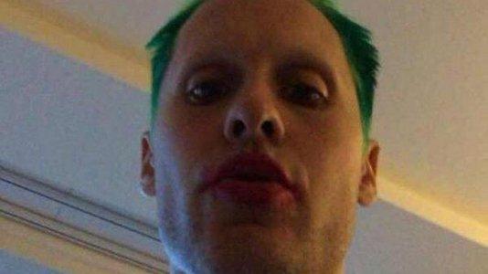 Jared Leto partilha outra imagem como Joker