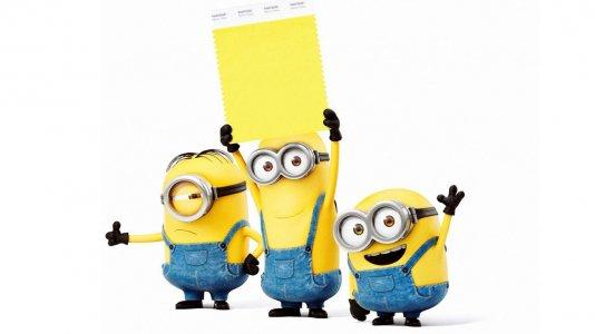 A cor da moda é... o amarelo minion!