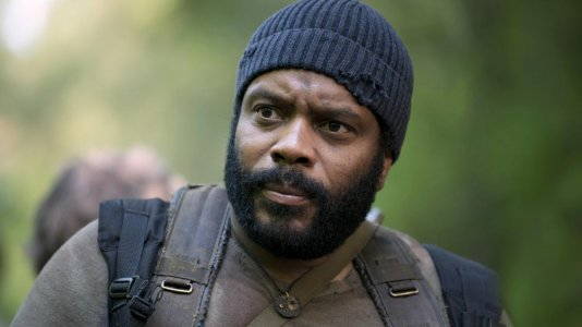 "O Tyreese de ""The Walking Dead"" tem ataque de fúria no metro de Nova Iorque"