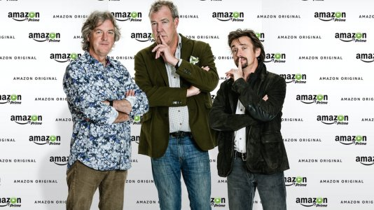 "Trio de ""Top Gear"" assina pela Amazon"