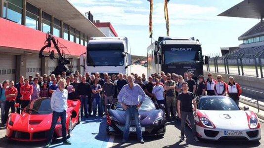 """Antiga equipa de """"Top Gear"""" grava novo programa em Portimão"""
