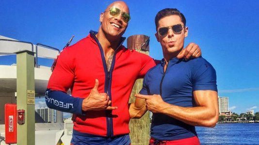 "Começaram as filmagens do novo ""Baywatch"""