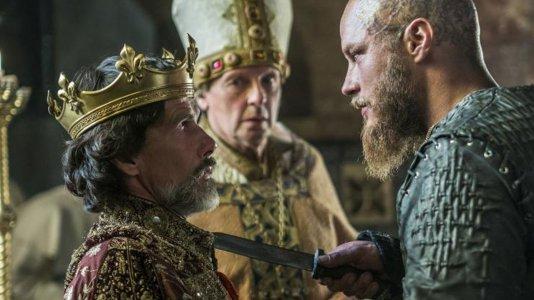 """Vikings"": quinta temporada garantida com Jonathan Rhys Meyers no elenco"