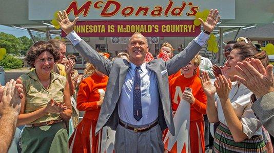 Primeiro olhar sobre Michael Keaton como o fundador da McDonald's