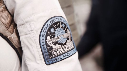 "Primeira imagem de ""Alien: Covenant"""