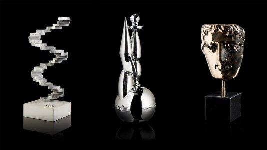 Vinte e sete troféus de cinema em exposição no Centro Cultural de Belém