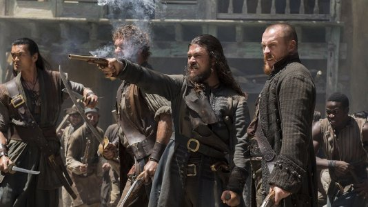 """Série """"Black Sails"""" termina após a quarta temporada"""