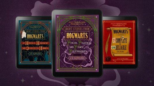 Harry Potter acabou mas J.K. Rowling vai publicar outras três histórias