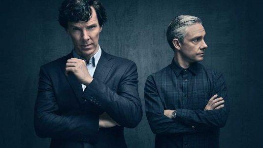 """Imagens da quarta temporada de """"Sherlock"""""""