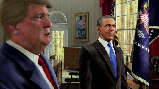Sátira sobre presidência de Trump em desenvolvimento na televisão norte-americana