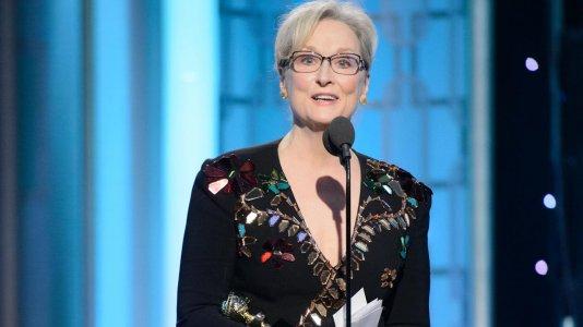 """Meryl Streep provoca Trump ao admitir ser """"sobrevalorizada"""""""