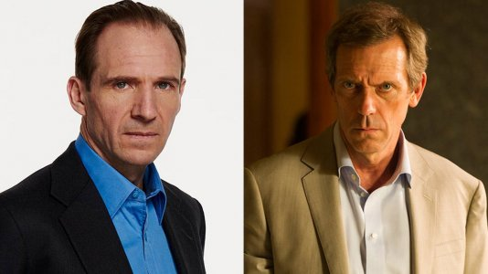 "Ralph Fiennes e Hugh Laurie na comédia ""Holmes and Watson"""