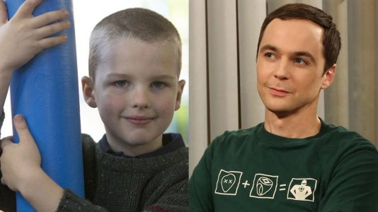"Escolhido o jovem Sheldon da prequela de ""The Big Bang Theory"""