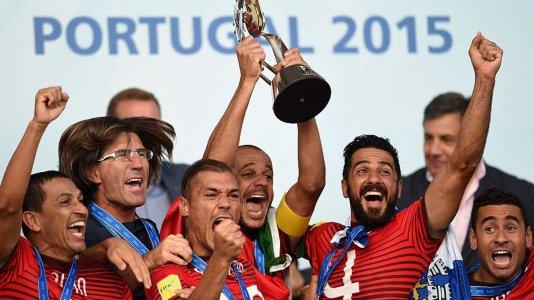 Campeonato do Mundo de Futebol de Praia no Eurosport 2 a partir de 27 de abril