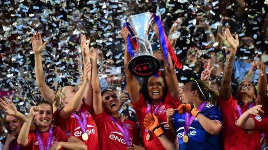 Final da Champions do futebol feminino em direto no Eurosport