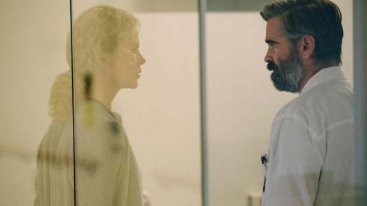 "Trailer para o excêntrico terror psicológico de ""The Killing of a Sacred Deer"""