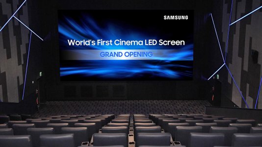 Primeiro ecrã de cinema LED chega a Hollywood