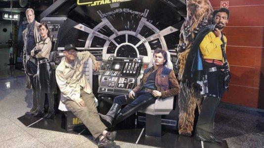 """Ron Howard na estreia de """"Han Solo: Uma História de Star Wars"""" em Portugal"""